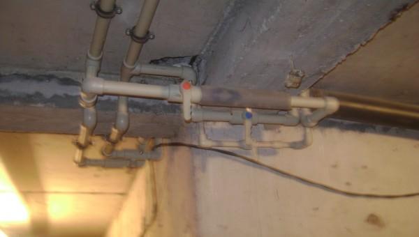 Частичен ремонт на водопровод и канализация