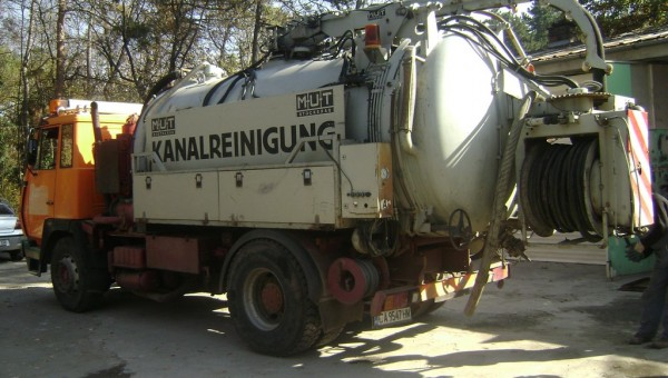 Машина за отпушване на канали София