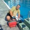 Отпушване на басейн и почистване