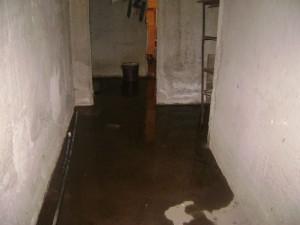 Отводняване на приземен етаж