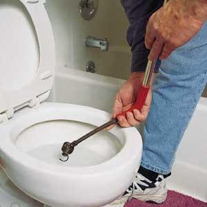 Уред за отпушване на тоалетна