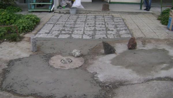 Възстановяване на терена след отпушване на канали